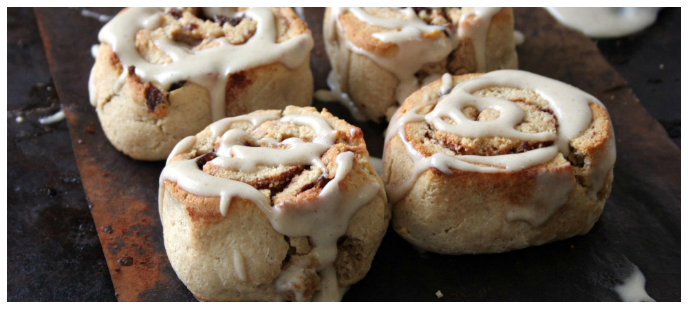 Grain Free Cinnamon Roll Biscuits