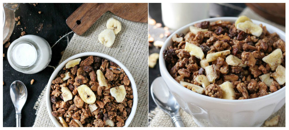 Grain-Free Banana Walnut Granola