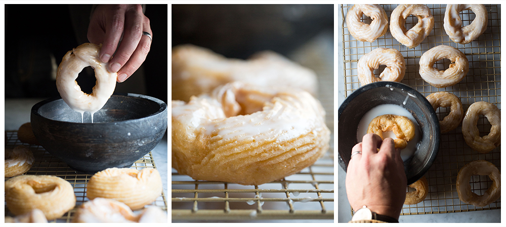 Glazed Grain-Free French Crullers