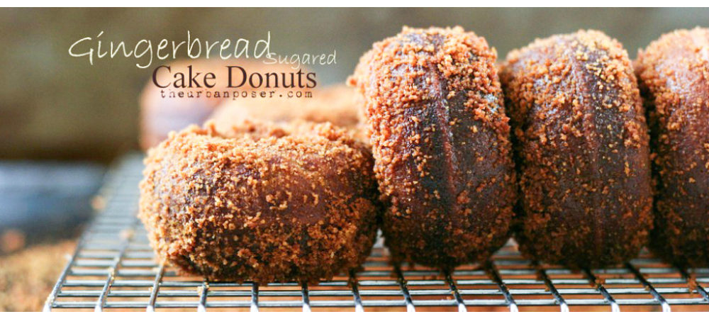 Grain Free Sugared Gingerbread Donuts