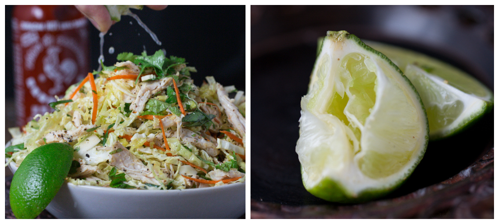 Vietnamese Style Chicken & Cabbage Salad