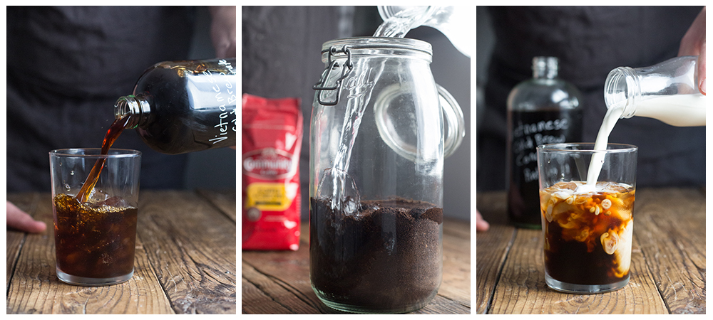 Vietnamese Cold Brew Coffee Featuring Community Coffee