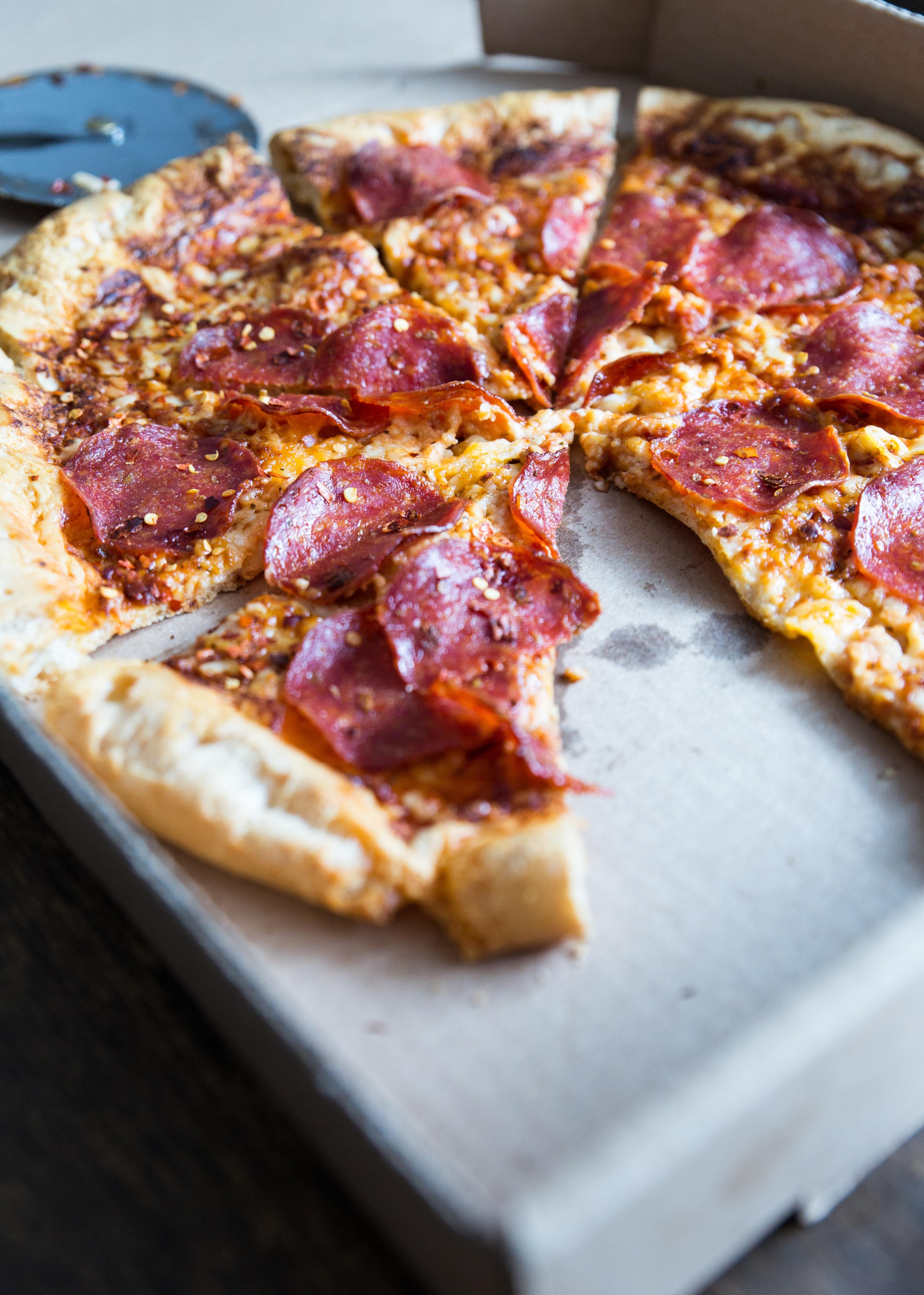 Paleo Pizza Crust close up
